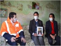 Belediye Başkanı Sayan, çocuğu dağa kaçırılan aileyi Bakan Soylu ile telefonla görüştürdü