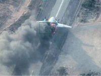 Libya Ordusu, Hafter'e silah ve mühimmat taşıyan kargo uçağını vurdu
