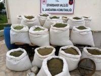 Diyarbakır'da 810 kilogram uyuşturucu madde ele geçirildi