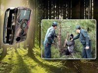 Ormanların korunması için yüzlerce fotokapan yerleştirildi