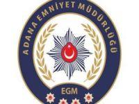 Adana'da asayiş operasyonları devam ediyor