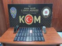 Adana'da 200 bin lira değerinde gümrük kaçağı telefon ele geçirildi