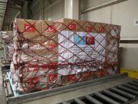 Kazakistan'a tıbbi malzeme yardımı gönderildi
