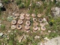 Haftanin'de ele geçirilen PKK'ya ait mayınlar imha edildi