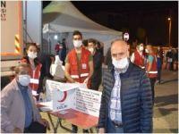 Bitlis'te milli eğitimin destek verdiği kan bağışı kampanyasına yoğun teveccüh gösterildi