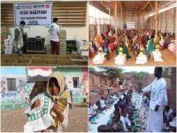 Umut Kervanı, Ramazan ayında yurtdışında birçok ülkeye yardım ulaştırdı
