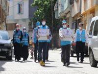 Gaziantep'teki ihtiyaç sahibi ailelere gıda yardımı yapıldı