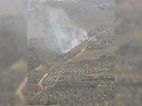 Siyonist işgalciler Filistinlilerin tarım arazilerini yaktı