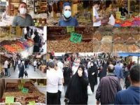 İstanbul'da bayram öncesi çarşı pazarlarda ciddi hareketlilik yaşandı