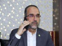 Sağlam'dan Pakistan Büyükelçiliğine taziye telefonu