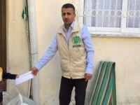 Umut Kervanı Mersin'de muhtaçların ev kirasını ödeyip erzak dağıttı