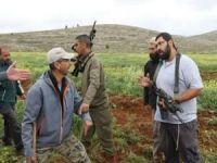 Terör estiren siyonist işgalciler Filistinli çiftçilere saldırdı