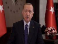 Cumhurbaşkanı Erdoğan'ın ABDdeki Müslümanlar için Ramazan Bayramı mesajı