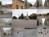 Mardin Midyat'ta tarihi çarşı ve sokaklar tarihi sessizliğini yaşıyor