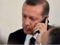 Erdoğan, PKK'lıların saldırısında hayatını kaybeden işçinin ailesiyle görüştü