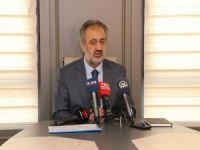 İstanbul Müftüsü Prof. Dr. Mehmet Emin Maşalı, basın mensupları ile toplantı düzenledi