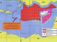 Dışişleri Bakanlığı, Doğu Akdeniz'de yeni ruhsat başvuru sahaları haritasını paylaştı