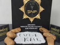 Şanlıurfa'da 41 kilogram esrar ele geçirildi