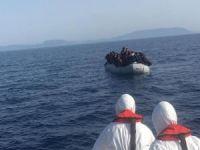 Yunan askerleri tarafından geri itilen 42 sığınmacı kurtarıldı