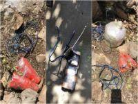PKK'nın tuzakladığı el yapımı patlayıcılar imha edildi