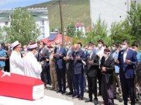 Karlıova depreminde hayatını kaybeden güvenlik korucusu için cenaze töreni düzenlendi