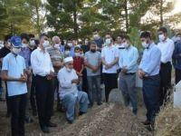 Girdiği baraj suyunda boğularak vefat eden Abdulkadir Yanaç dualarla defnedildi