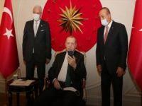 Cumhurbaşkanı Erdoğan, Sinirlioğlu ile görüştü