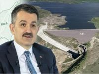 """Bakan Pakdemirli: """"Kars barajı hizmete alınıyor"""""""