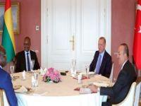 Cumhurbaşkanı Erdoğan, Gine Bissau Cumhurbaşkanı Embalo ile görüştü