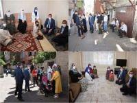 Diyarbakır Bağlar Belediye Başkanı'ndan sosyal mesafeli ev ziyaretleri
