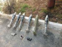 Barış Pınarı bölgesinde tuzaklanan 6 havan mühimmatı imha edildi