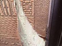 Gaziantep'te cami kapısındaki bakırı çalan şüpheli tutuklandı