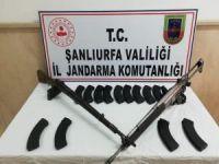Şanlıurfa'da 2 adet uzun namlulu silah ele geçirildi