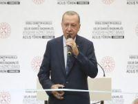 """Erdoğan: """"Türkiye'nin salgın sürecinden güçlü çıkması birilerini rahatsız etti"""""""