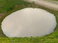 Gümüşhane'deki Dipsiz Göl eski haline getirildi