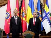 """Bakan Akar Ukrayna'da konuştu: """"Kırım'ın ilhakını tanımadık, tanımayacağız!"""""""
