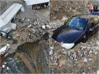 Artvin'de sel felaketi: Bir kişi hayatını kaybetti, 3 kişi kayıp