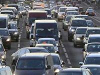 Haliç Köprüsü'nde trafik yoğunluğu yaşanıyor