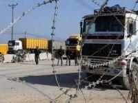 İşgalci siyonist rejim, Filistin'e inşaat malzemesinin girişini engelliyor