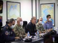 """Milli Savunma Bakanı Akar: """"Hiç kimsenin toprağında gözümüz yok"""""""