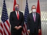 Dışişleri Bakanı Çavuşoğlu, ABD Dışişleri Bakanı Pompeo ile görüştü