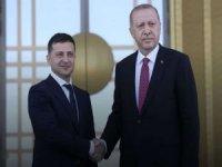 Ukrayna Devlet Başkanı Vladimir Zelenskiy bugün Türkiye'yi ziyaret edecek