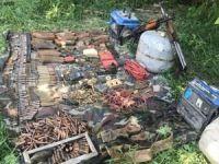 Yıldırım-2 Cilo Operasyonu bölgesinde PKK'lılara ait silah ve mühimmat ele geçirildi