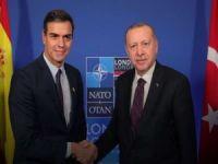 Erdoğan, İspanya Başbakanı Sanchez ile video konferansla görüştü