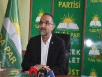 HÜDA PAR Genel Başkanı Sağlam: Siyonist işgal rejimiyle yapılan anlaşmalar yok hükmündedir