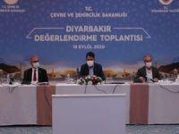 Bakan Kurum, Diyarbakır'da hayata geçirilecek projeleri açıkladı