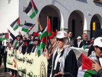 Normalleşme anlaşması Fas'ta protesto edildi