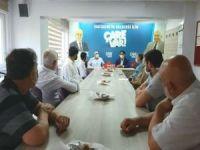 HÜDA PAR Eskişehir İl Başkanı Dikgöz'den siyasi parti ve STK'lara ziyaret