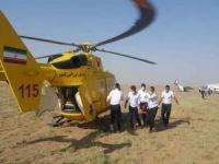 İran'da eğitim uçağı düştü: 2 yaralı