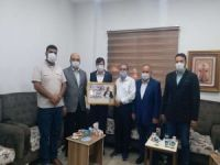 HÜDA PAR Başakşehir İlçe Başkanlığından FİDDER ve Filistin Vakfı'na ziyaret